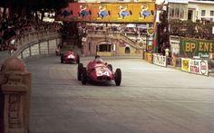 Juan Manuel Fangio Maserati 250F Monaco 1957