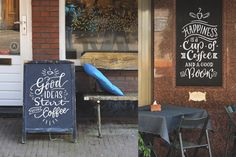 Coffee Chalk Letterings by Zira Zulu on @creativemarket   #coffee #cappuccino #chalk #chalboard #lettering #calligraphy #board #quote #overlay #illustration #design #handwriting #type  https://creativemarket.com/zirazulu/1652824-Coffee-Chalk-Letterings
