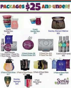 Scentsy $25 and under! #scentsy  https://jamieanfeldt.scentsy.us