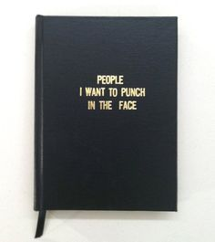 People I want to punch in the face ;) I can just imagine Meg would love this book, haha