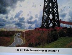 Billy Childish The Art Hate Transmitter of the North Enhanced pigment print.