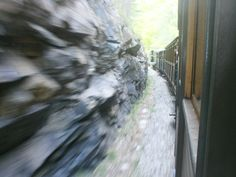 sargan eight. a tourist train line with lots of tunnels.. this photo is cool
