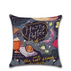 Magical Style Cotton Linen Cushion Cover Theme Story Sofa Car Home Decor Square Pillow Case - Newchic Mobile.