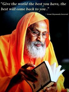 Pujya Swami Dayananda Saraswati jiattained Mahasamadhi, at Rishikesh, next to his beloved Ganga, at around 10:20 PM on Sept. 23rd, 2015. We are all blessed to have been alive at a time when we could all seek Pujya Swamiji's blessings. He was compassion personified, and an incomparable teacher of Brahma Vidya. His blessings will always be on us helping us to remember his teachings, his vision for Dharma and Vedanta. Salutations to the great teacher of the modern times.