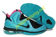 Nike Zoom Lebron IX Royal Moon Black Pink 469764 160 4aba5b333