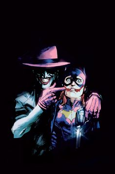 The Joker and Batgirl