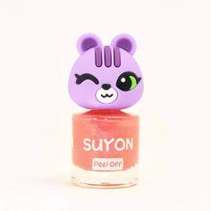 SUYON Peel-Off Nail Polishes - Happy Arong - Pearl Orange
