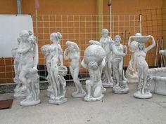 Ponuka veľkých betónových antických záhradných sôch.