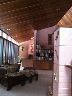 Frank Lloyd Wright's John O. Carr house in Glenview, IL.