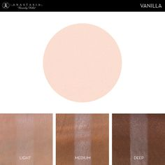 Eye Shadow Singles with skin swatch in the shade Vanilla