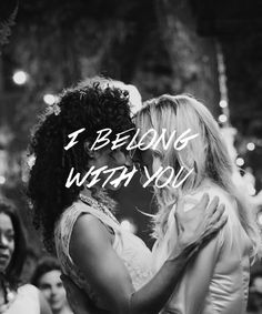 I belong with you,u belong w me..ur my sweetheart! !!! I miss you already:( lesbian love quote #quotes