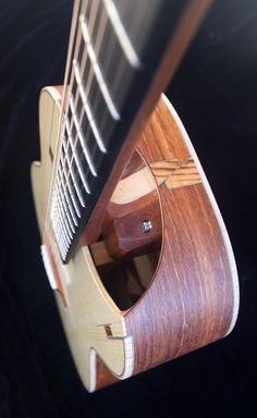 All-new neck heel joint allows for easier than ever neck adjustments Classical Guitar, Guitars, Heel, Heels, Platform, Guitar, Shoes Heels, Vintage Guitars