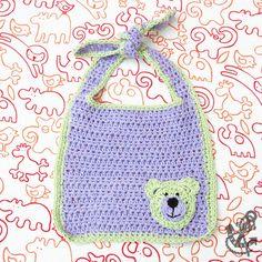 Unique crochet baby bib patterns please the most particular baby bib with teddy bear motif crochet pattern dt1010fo