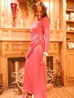 Miss Elliette Vintage Evening Dress  AnnDavisDesign on Etsy .com
