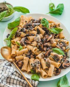 Garlic and Herb Mushroom Pasta