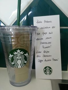 Geschenk von Starbucks ♡