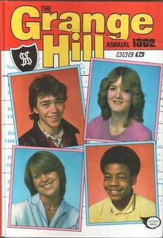 The Grange Hill Annual 1980s Childhood, My Childhood Memories, Great Memories, Kids Tv, Kids Shows, Teenage Years, Before Us, My Memory, The Good Old Days