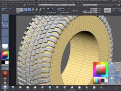Tutorial Link: Modeling a tire tread in ZBrush – Part 2 http://www.carbodydesign.com/tutorial/56247/modeling-a-tire-tread-in-zbrush-part-2/