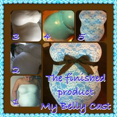 My belly Cast | Belly Casting | Pinterest