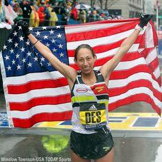 4614349b5b328  BostonMarathon winner Desiree Linden first American woman to win since  1985 fxn.ws