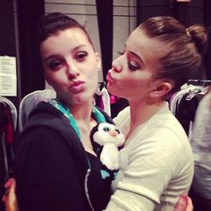 Jenni, Waddles (the penguin) and Brittany Family Channel, The Next Step, Brittany, Favorite Tv Shows, Love Her, Jenni, Penguin, People, Instagram