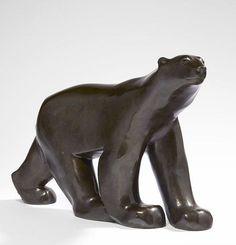 François Pompon (1855 - 1933) POLAR BEAR - CIRCA 1929-1930