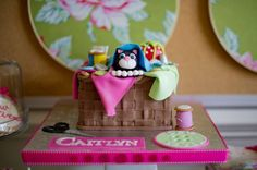 Vintage Sewing Birthday Party | CatchMyParty.com