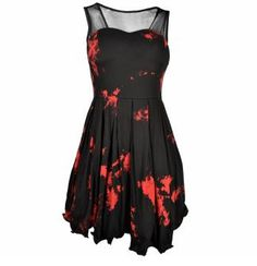 Attitude Clothing - Alternative, Gothic, Punk, Rock Clothing, Shoes, Brands + Accessories - Poizen Industries Vera Dress