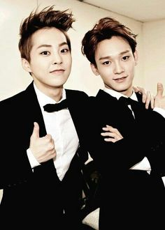 My Biases Sweetheart Xiumin EXO's vocal champ Chen.