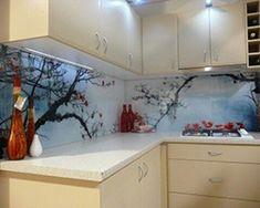 Brisbane Glass Splashback - In Glass Design - Glass Kitchen, Kitchen Backsplash, Kitchen Countertops, Glass Printing, Glass Wall Art, Home Wallpaper, Glass Design, Home Decor Inspiration, Kitchen Remodel