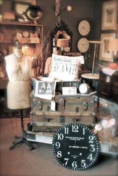 Room 363  Great display ideas from this store