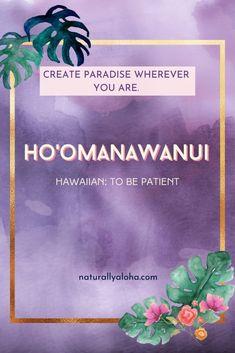 Aloha Quotes, Hawaii Quotes, Ocean Quotes, Beach Quotes, Hawaiian Words And Meanings, Hawaiian Phrases, Mahalo Hawaii, Common Quotes, Island Girl