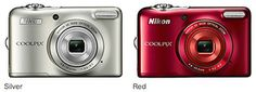 Nikon announced new compact cameras in Japan: Coolpix S3600, Coolpix S6800 and Coolpix L30