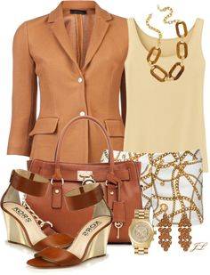 """""""Michael Kors II"""" by jenalind ❤ liked on Polyvore"""