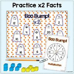 FREE! Halloween Multiplication Bump! by Carla Hoff | TpT