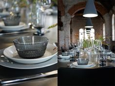 Iittalan ihanuuksia – All things soft & sweet Tablescapes, Ikea, Table Settings, Dining Room, Dishes, Table Decorations, Tableware, Sweet, Food