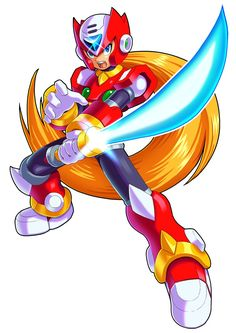 Megaman X9- Zero by ultimatemaverickx on DeviantArt