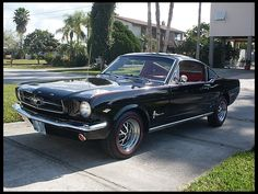 1965 Ford Mustang Fastback 289/225 HP, Automatic