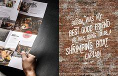 Branding & Cool Graphic Design: Bubba – Handmade Croquettes | HeyDesign Graphic Design & Typography Inspiration