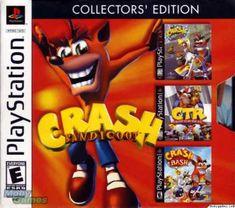 Crash Bandicoot: Collector's Edition (Crash Bandicoot: Warped / CTR: Crash Team Racing / Crash Bash) - to get discount outlets Crash Bash, Crash Team Racing, Game Crash Bandicoot, Nintendo, Game Change, Makeup Deals, Playstation Games, Finish Line, Funny Tees