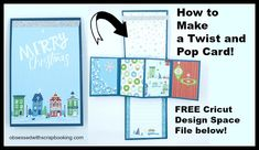 Obsessed with Scrapbooking: [Video]Twist and Pop Up Cricut Design Space…