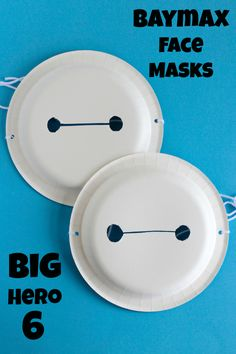 Big Hero 6 Baymax Face Masks