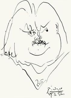 Picasso Balzac Galerie Bordas