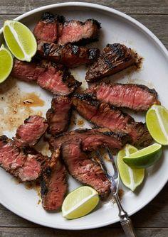 Grilled Soy-Tamarind Denver Steaks - marinate one hour, or overnight Best Grilled Steak, Grilled Steak Recipes, Grilled Meat, Grilling Recipes, Cooking Recipes, Healthy Recipes, Cooking Tips, Picnic Recipes, Paleo Meals