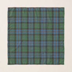 Campbell Cawdor Ancient Scottish Clan Tartan Scarf - accessories accessory gift idea stylish unique custom