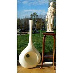 Unique Vase small, white mother of pearl - Unique Arts GmbH