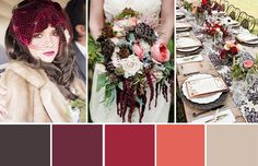 Shades of the Season - 10 Winter Wedding Color Palette Ideas ...