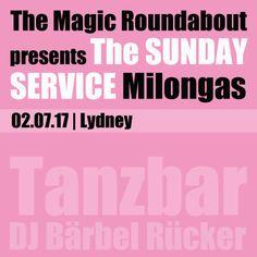 The Magic Roundabout Sunday Service Milonga in Lydney with tango DJ Bärbel Rücker. July 2017 edition. More info on www.tanzbar.dk