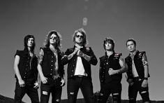 Download wallpapers Asking Alexandria, British metal band, Danny Worsnop, Benjamin Paul Bruce, James Cassells, photoshoot