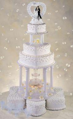 The Love Keeps Flowering Wedding Cake. Huge Wedding Cakes, Extravagant Wedding Cakes, Wedding Cake Fresh Flowers, Amazing Wedding Cakes, Elegant Wedding Cakes, Wedding Cake Designs, Wedding Desserts, 1960s Wedding, Wedding Prep